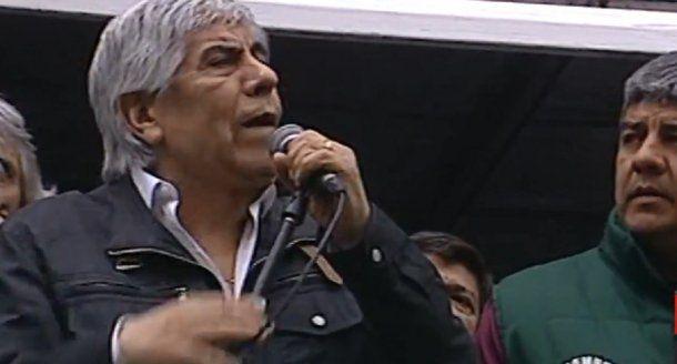 Hugo Moyano <br>