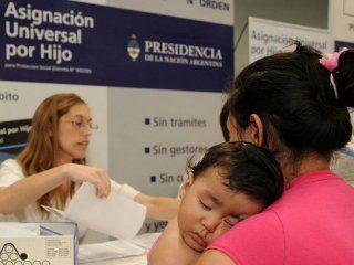 el gobierno oficializo el aumento en la asignacion universal por hijo