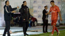 Santiago Solari debutó en el Real Madrid