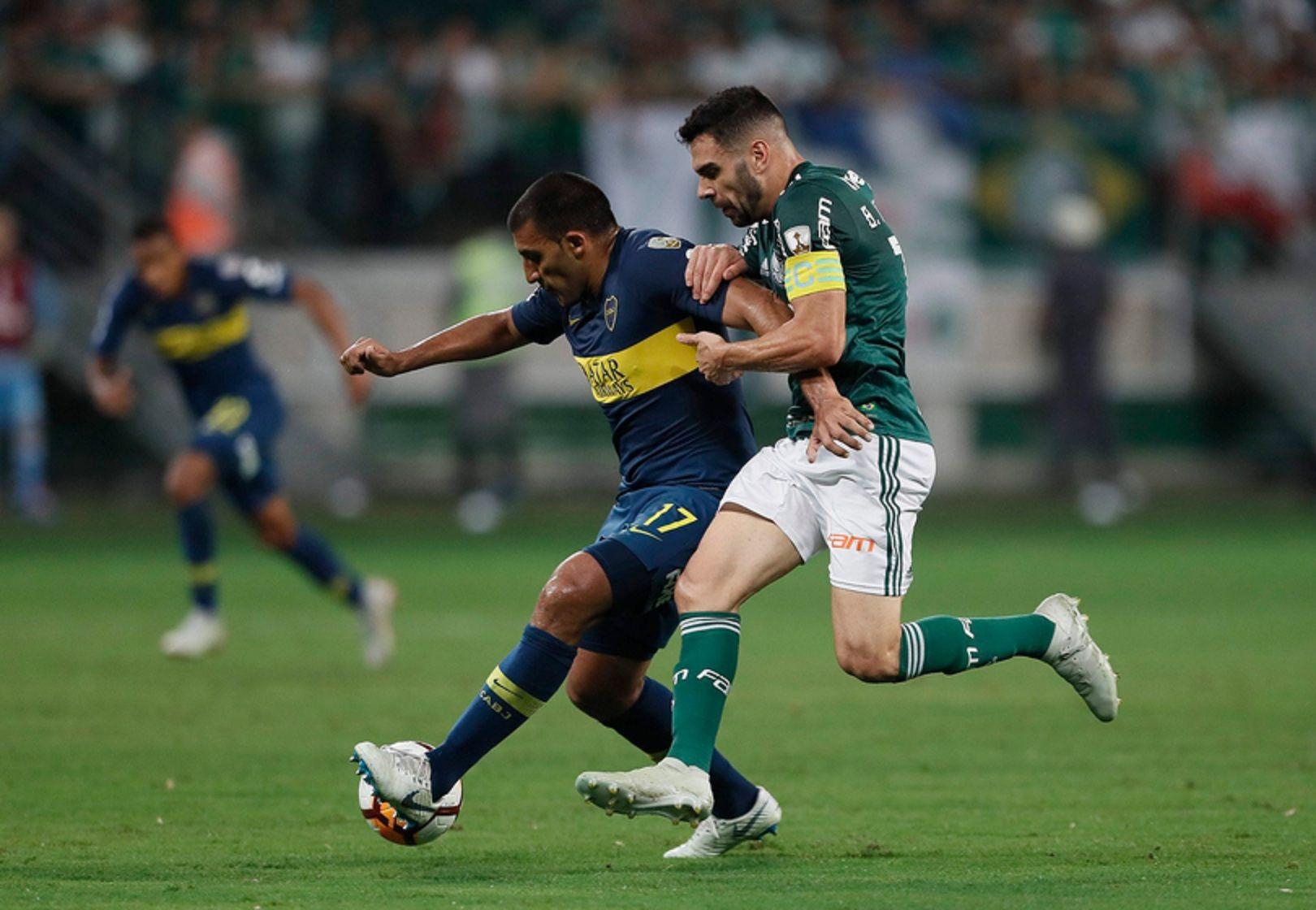 Boca y Palmeiras en Brasil (@BocaJrsOficial)