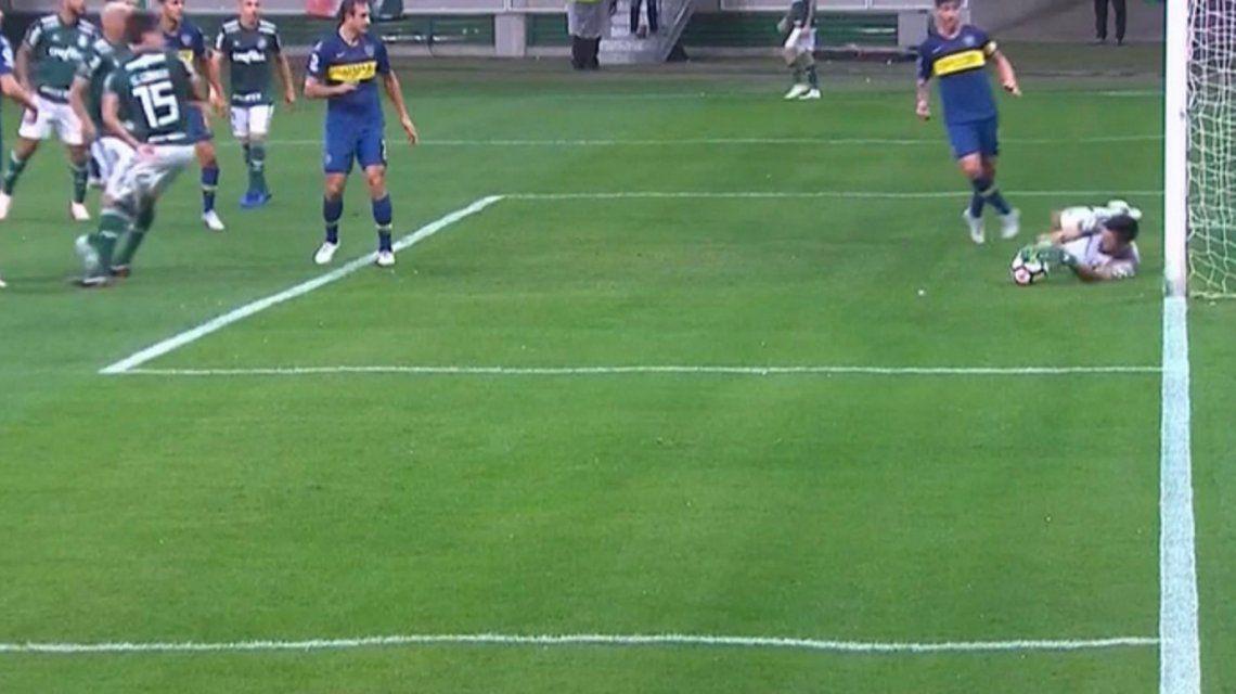 VIDEOS: Las atajadas de Rossi que le dieron vida a Boca en Brasil ante Palmeiras