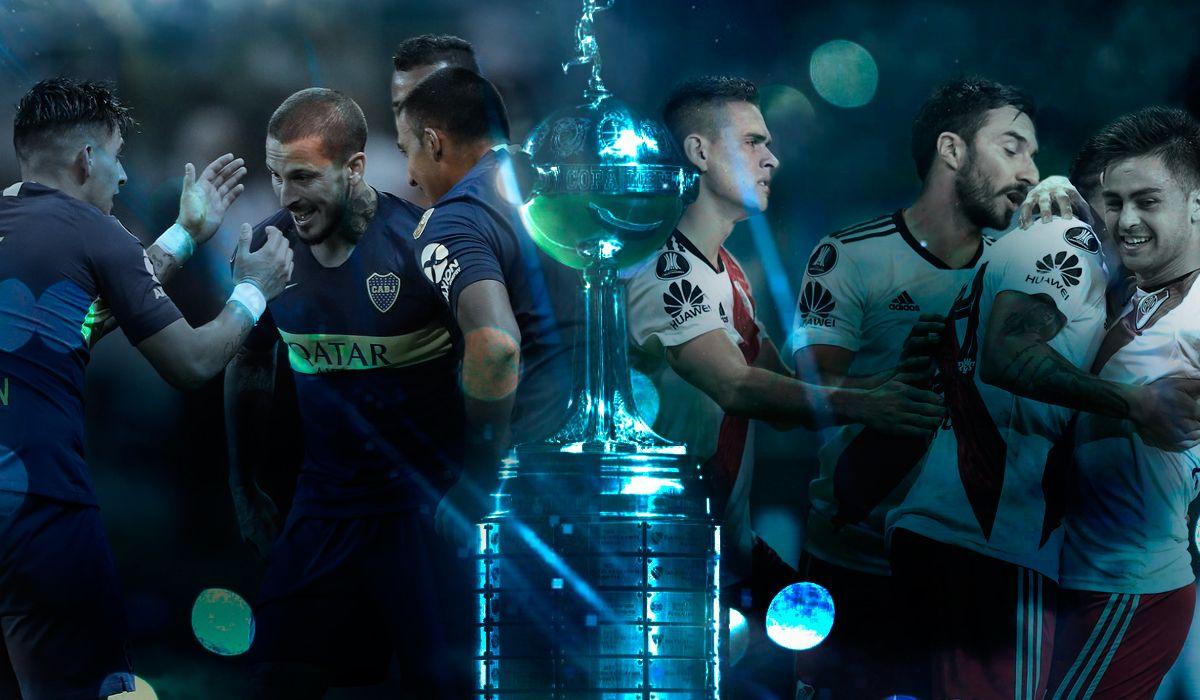 Las finales de la Copa Libertadores entre Boca y River se jugarán los sábados 10 y 24