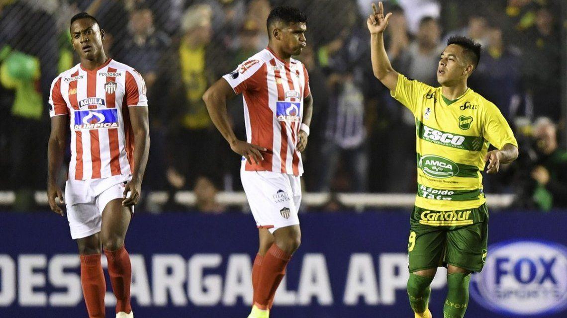 Junior vs Defensa y Justicia - Crédito:@Sudamericana