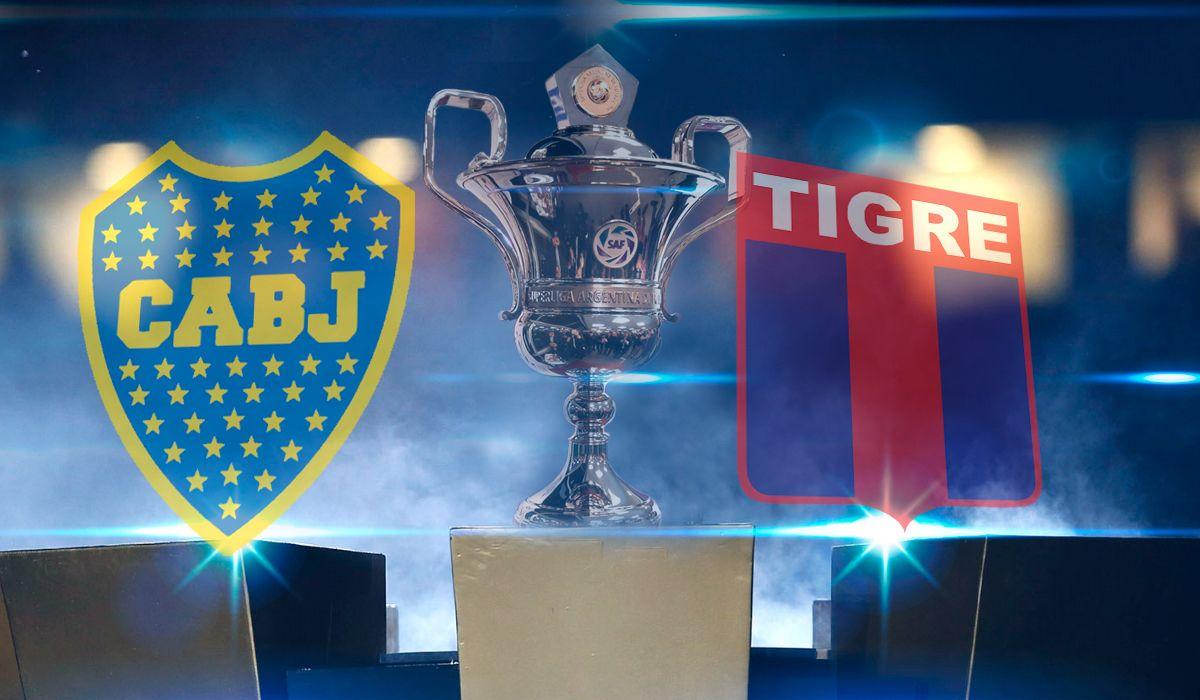 Boca Juniors vs. Tigre por la Superliga: horarios, formaciones y TV