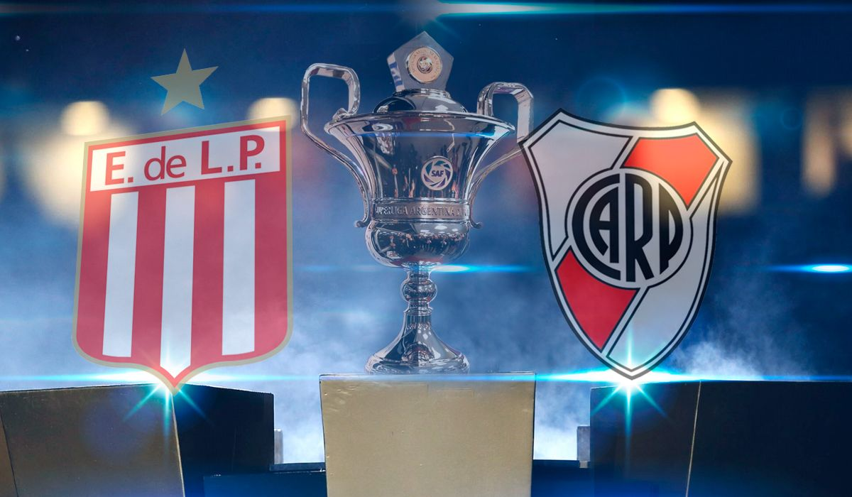 Estudiantes de La Plata vs. River por la Superliga: horario, formaciones y TV