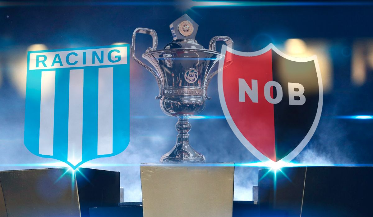 Racing vs. Newells por la Superliga: horario, formaciones y TV