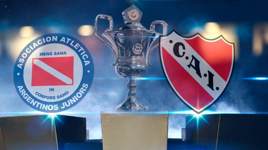 Argentinos Juniors vs. Independiente por la Superliga: horario, formaciones y TV