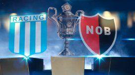 Racing vs. Newells por la Superliga: horario