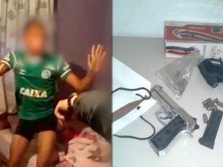 tiroteo en pinar de rocha: detuvieron al presunto autor de los disparos