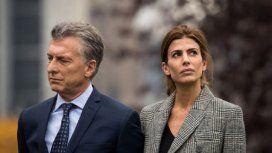 Mauricio Macri con Juliana Awada
