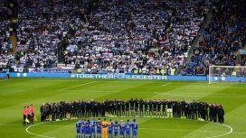 El sentido minuto de silencio de Leicester