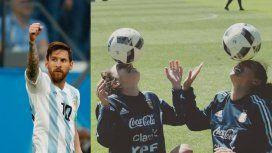 El apoyo de Messi a la Selección femenina