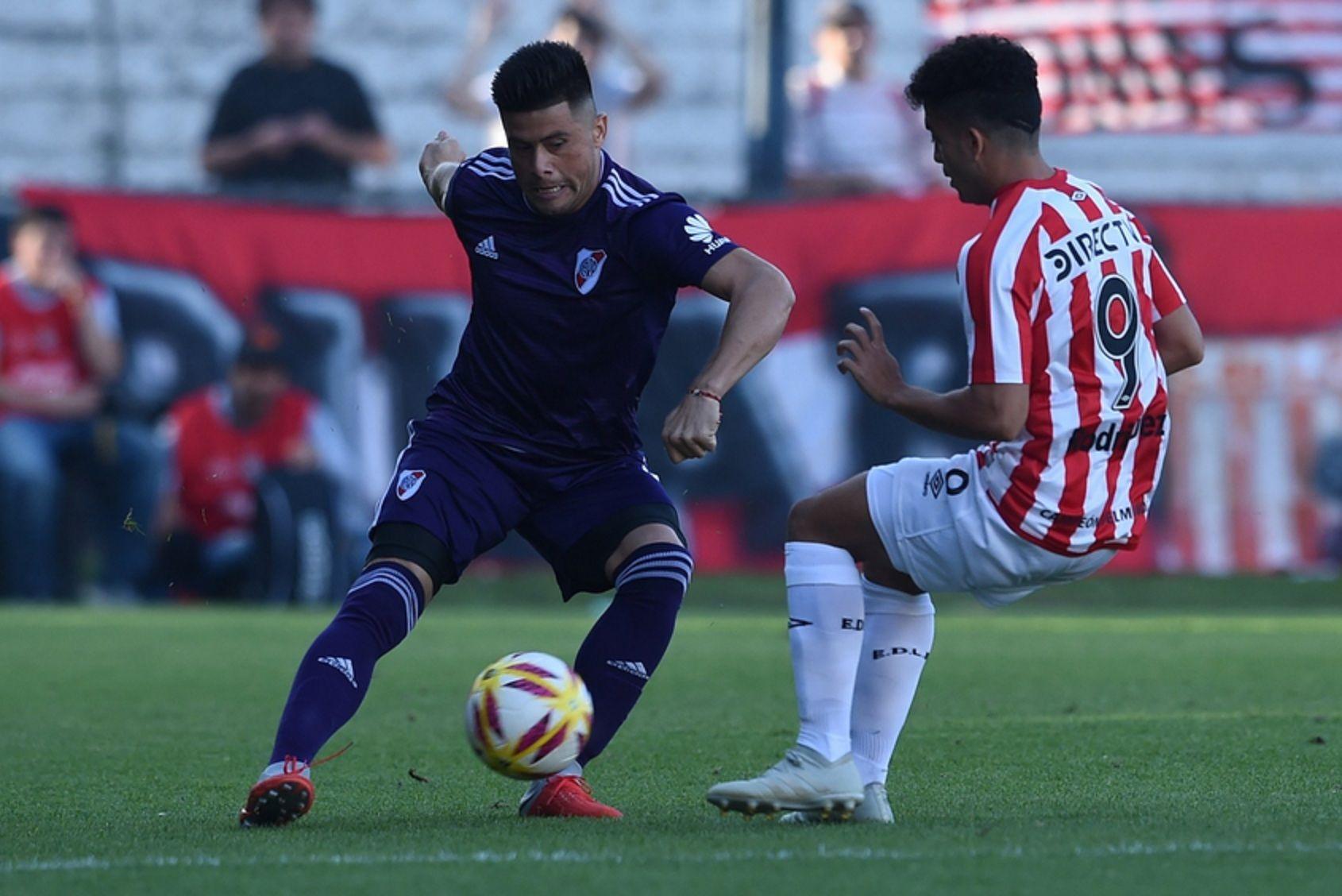 A días de la final de la Copa Libertadores, River perdió con Estudiantes en Quilmes