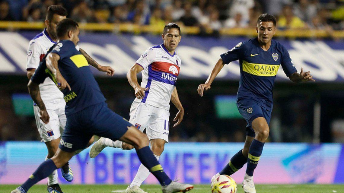 Con suplentes y pensando en la final de la Libertadores, Boca se lo dio vuelta y goleó a Tigre