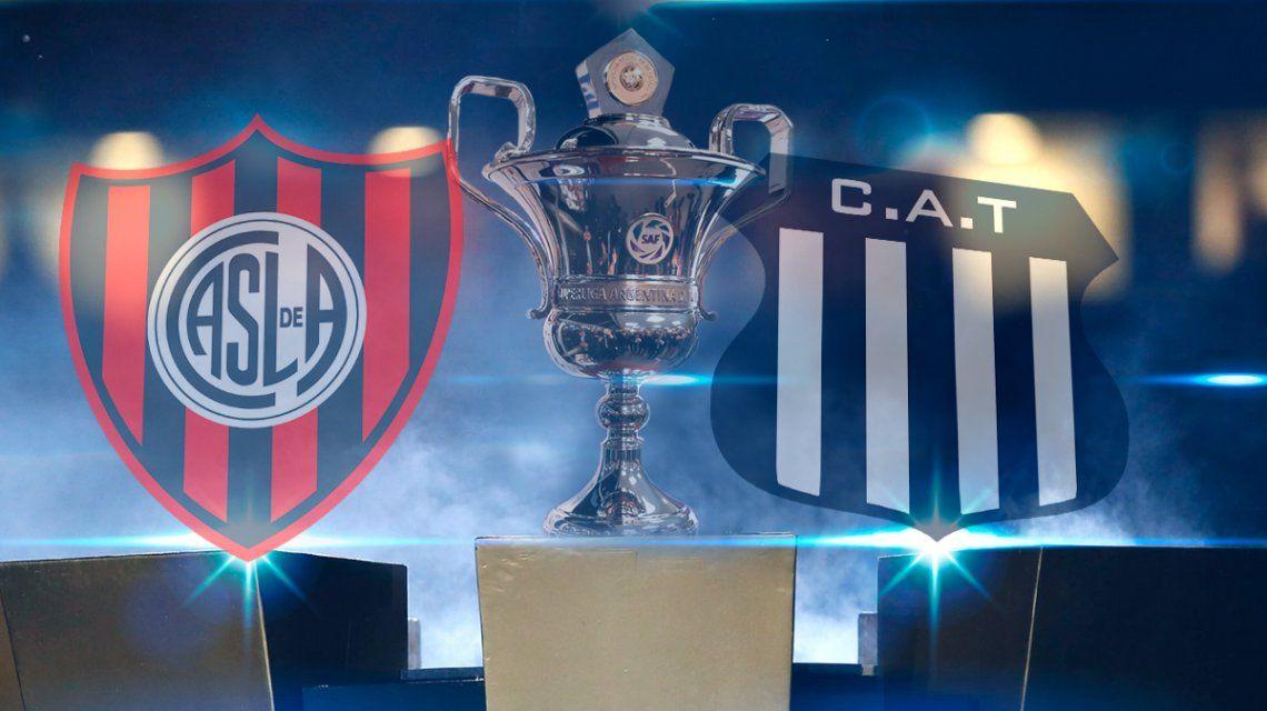San Lorenzo vs. Talleres de Córdoba por la Superliga: horario, formaciones y TV
