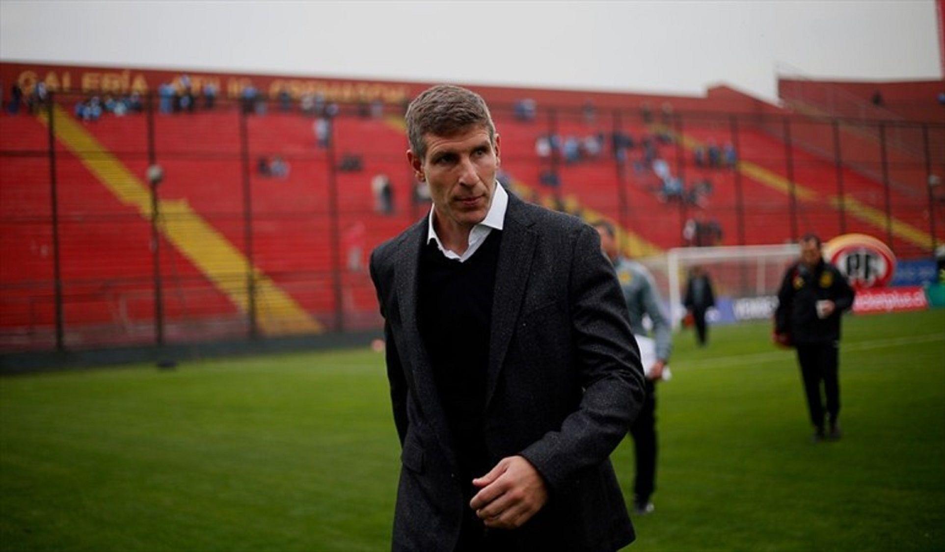 Martín Palermo dejó de ser DT de Unión Española en Chile