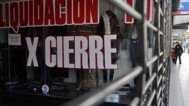 Los comercios cerrados, una constante que se repite por la crisis