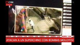 ¿Mafia china? Otro ataque a un súper: ahora, con bombas molotov