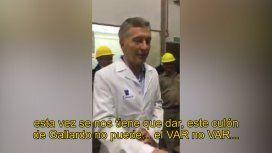 La chicana de Macri en la previa del Superclásico: Este culón de Gallardo