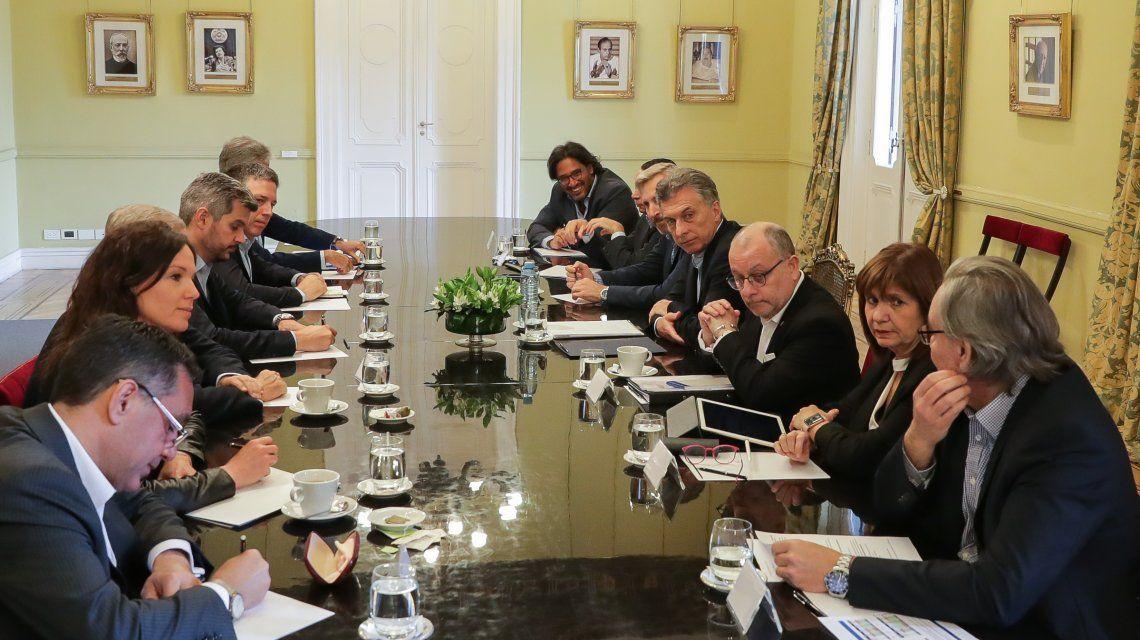 ElpresidenteMauricio Macri encabezó este lunes una nueva reunión de Gabinete Nacional en la Casa Rosada.