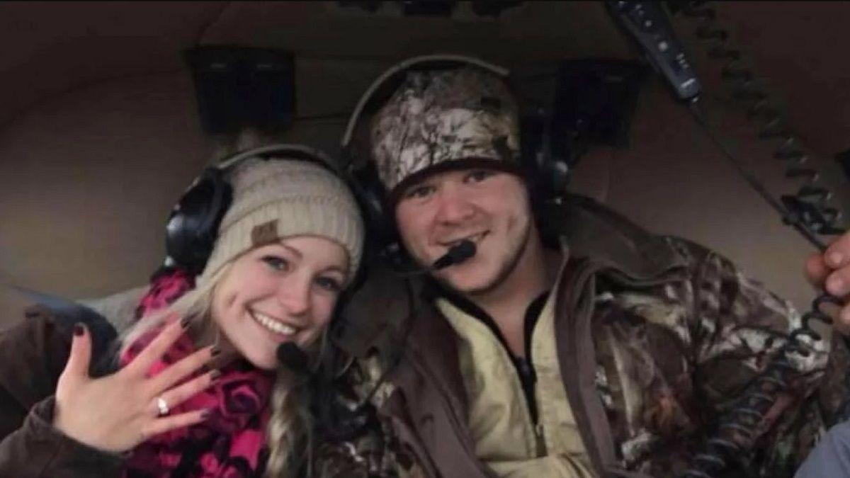 Se fueron de su casamiento en helicóptero y murieron