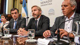 Rogelio Frigerio defendió el Presupuesto 2019 en el Senado