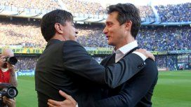 Marcelo Gallardo y Guillermo Barros Schelotto