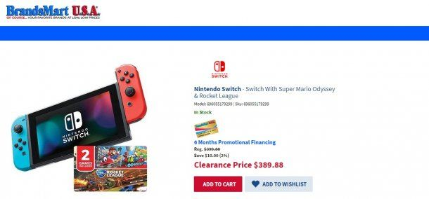 Nintendo Switch<br>