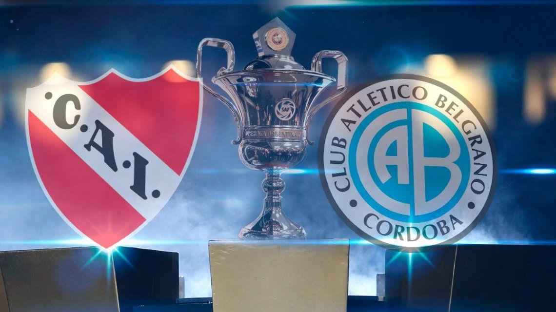 Independiente vs. Belgrano por la fecha 12 de la Superliga: horario, formaciones y TV