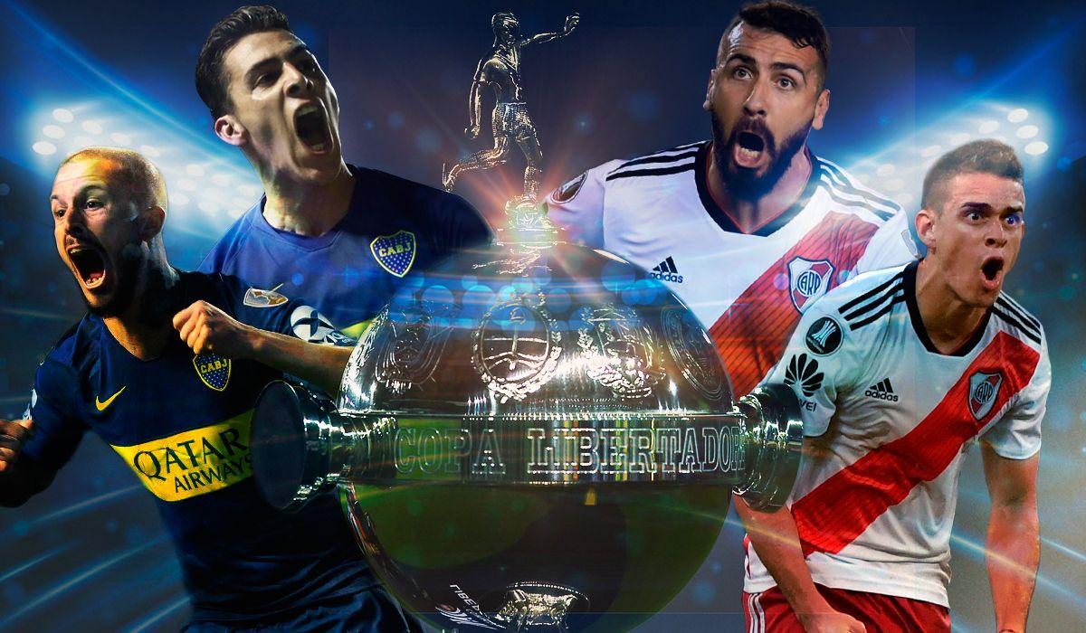 Boca vs. River por la final de la Copa Libertadores: horario, formaciones y TV