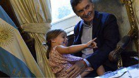 Antonia, la hija menor de Mauricio Macri