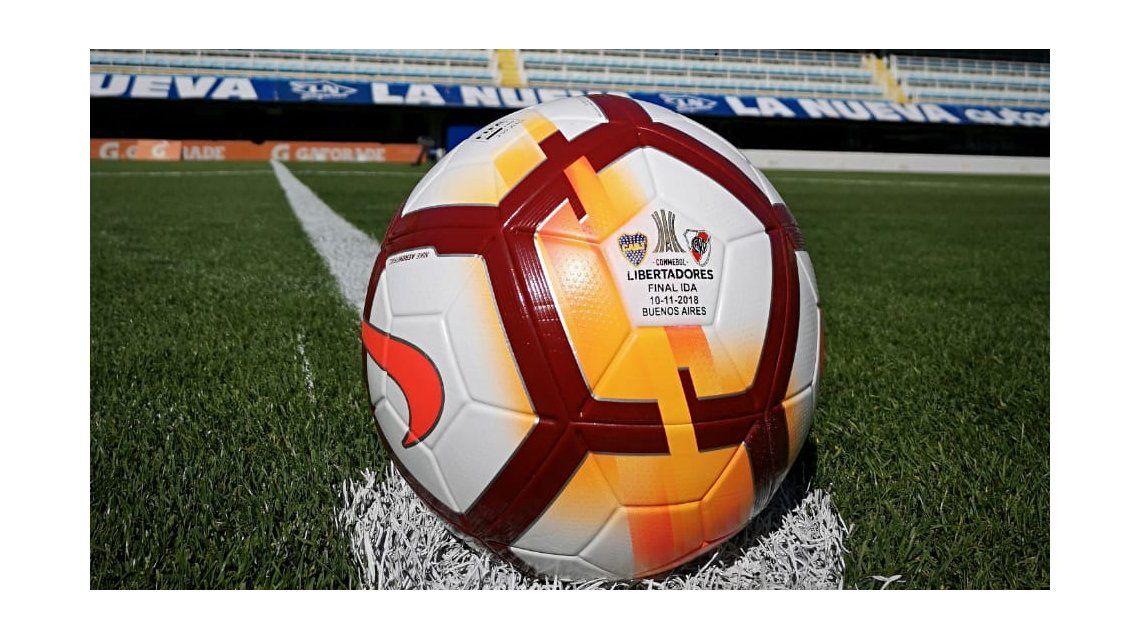 La pelota es la misma que se usó durante todo el torneo