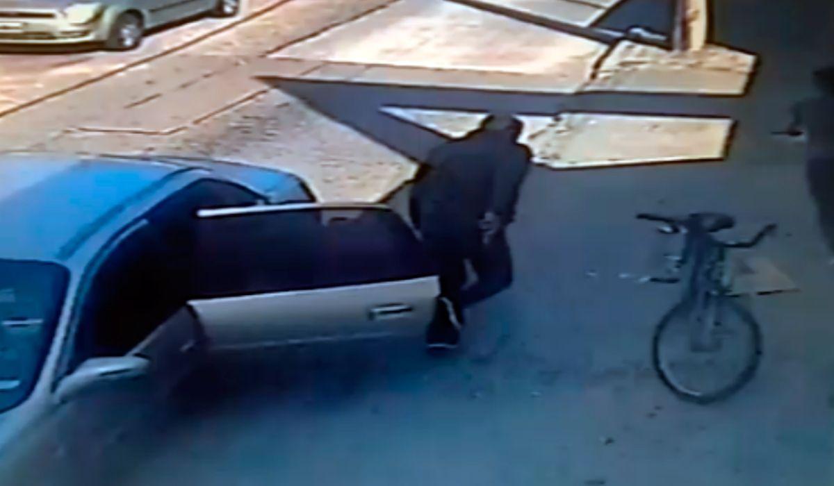 VIDEO: El dramático intento de secuestro de una chica en Villa Madero