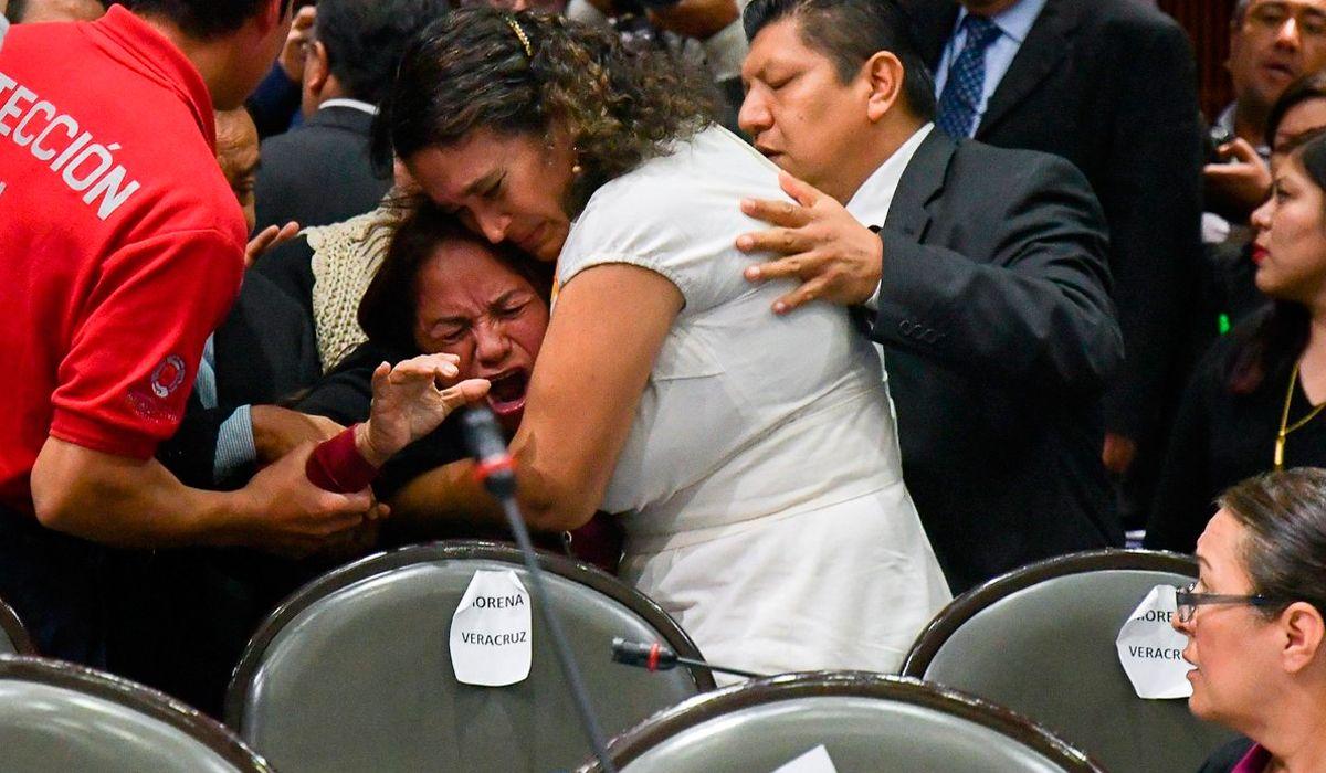 México: una diputada se entera de la muerte de su hija en plena sesión
