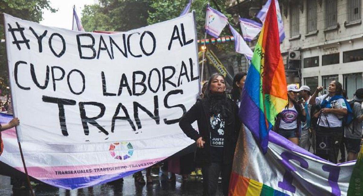 Presentaron en el Congreso un proyecto de inclusión laboral para trans y travestis