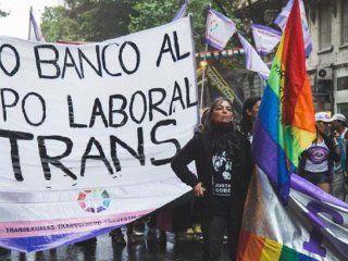 presentaron en el congreso un proyecto de inclusion laboral para trans y travestis
