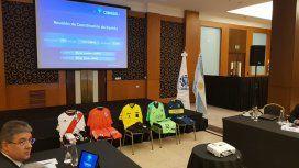 Conmebol presentó las equipaciones para el Boca - River