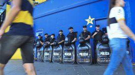 Un fuerte operativo de seguridad se desplegará en La Bombonera