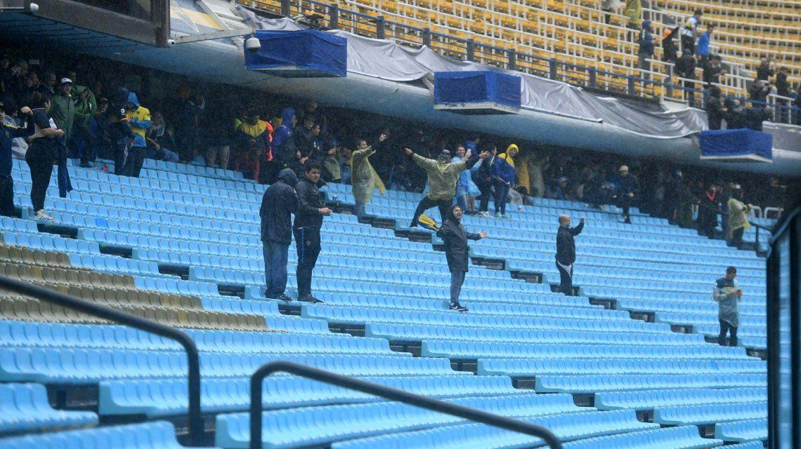 Los hinchas comenzaron el ingreso al estadio desde la mañana