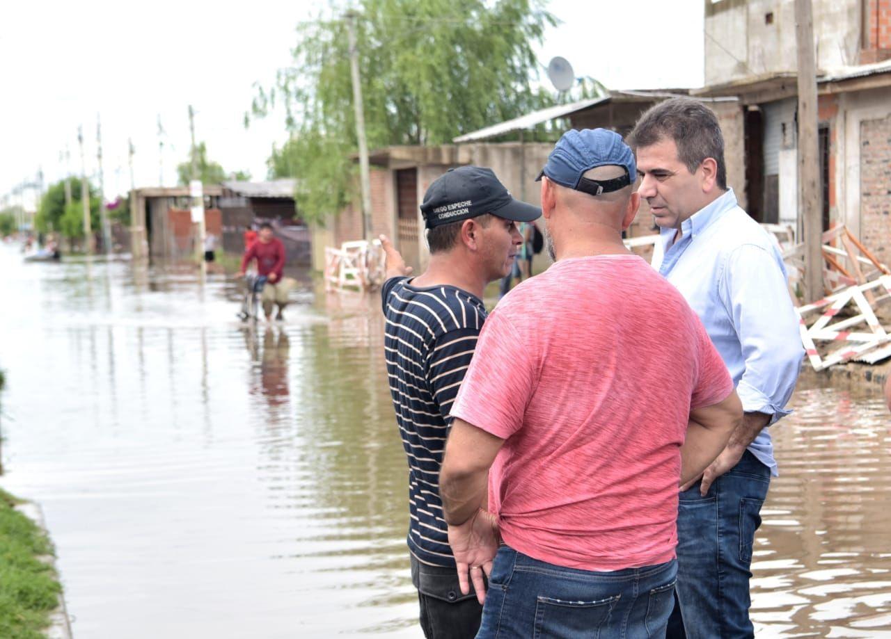 Más de 1.300 personas continúan evacuadas en el Conurbano bonaerense y se esperan nuevas lluvias