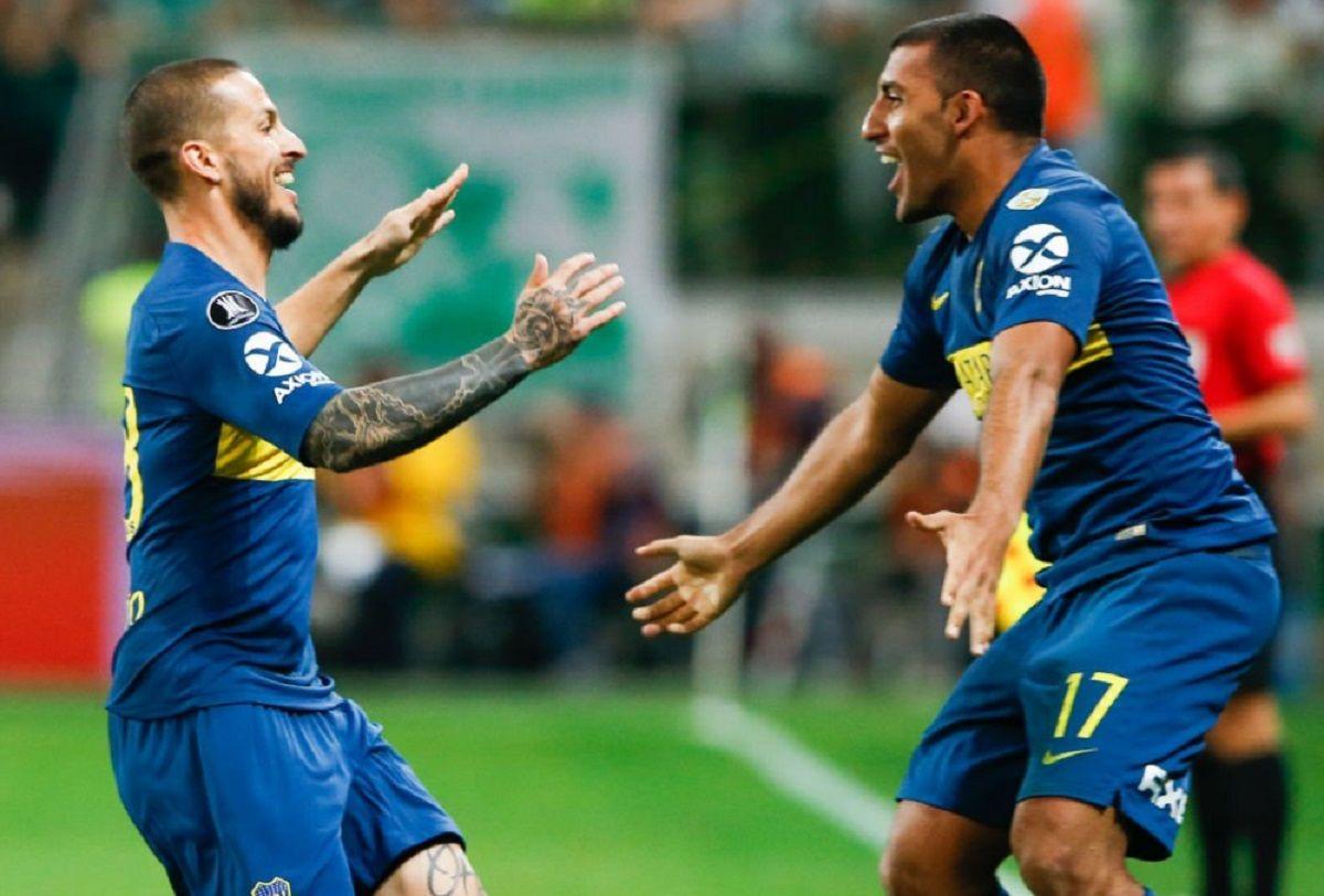 Wanchope y Benedetto hablaron del reto de Tevez tras el empate en la Bombonera
