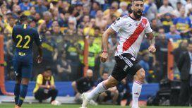 Los goles de River en el empate contra Boca por la Libertadores