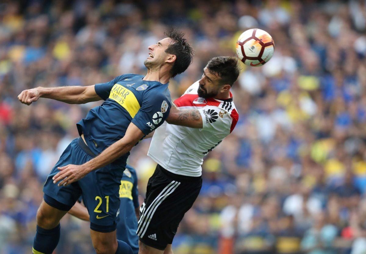 En un partido vibrante, Boca y River empataron en la primera Superfinal de la Copa Libertadores