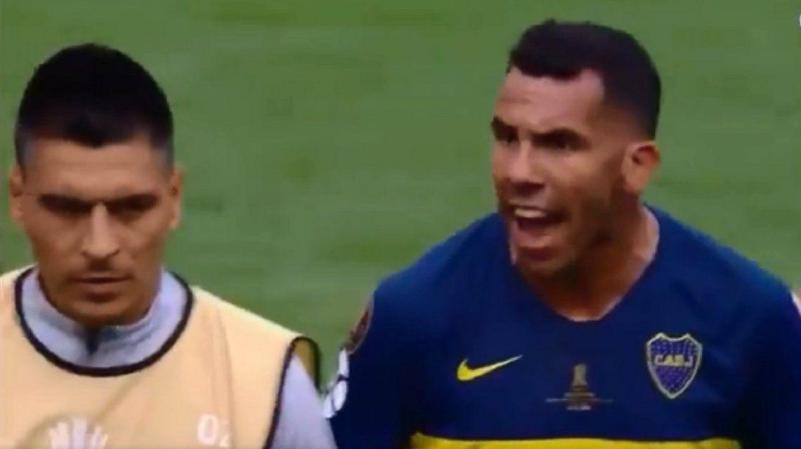 ¡Cabeza arriba!: el reto de Tevez a los jugadores de Boca tras el empate en la Bombonera