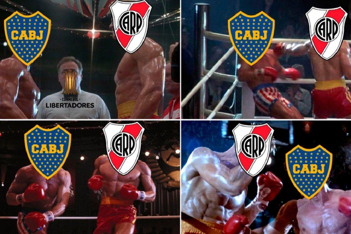 Los memes por el Boca vs River en la Libertadores