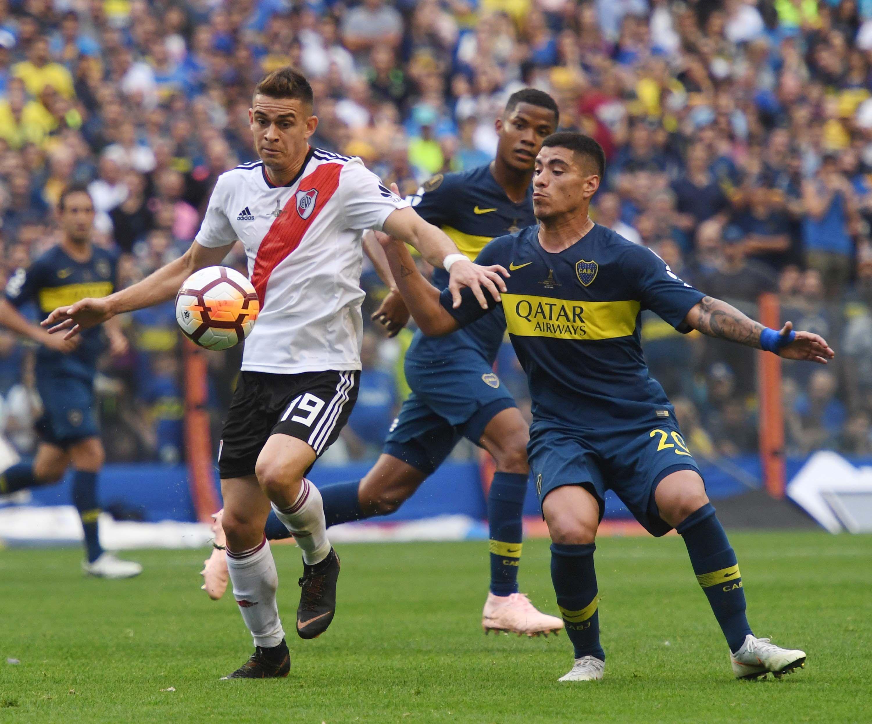 Por acumulación de amarillas, Borré se pierde el partido de vuelta de la Superfinal de la Libertadores