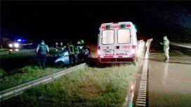 Una dirigente del PRO murió en un accidente en medio de la tormenta