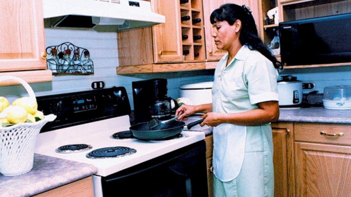 Las empleadas domésticas no cobrarán el bono de $5.000