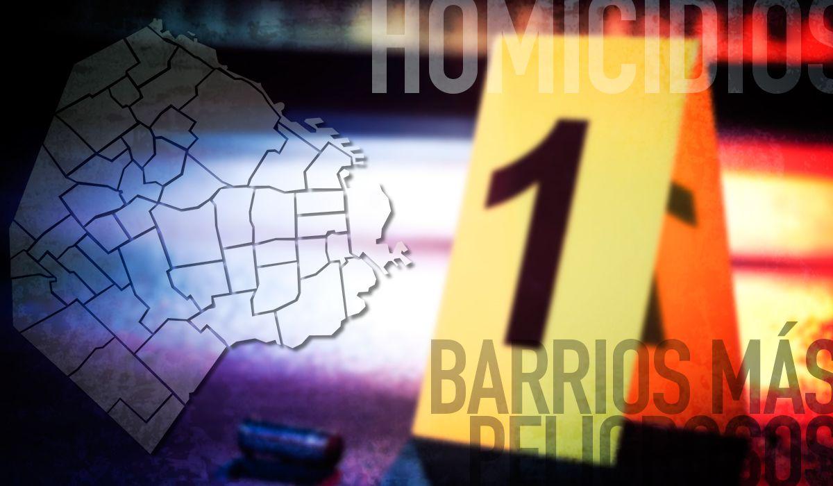 El mapa del delito en la Ciudad: móviles, relación previa y los barrios con más homicidios