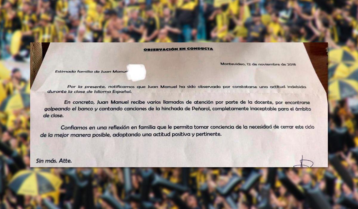 Un nene fue castigado en la escuela por un insólito motivo en Uruguay